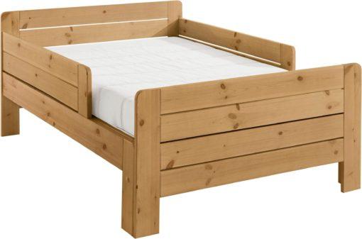 Łóżko dziecięce, które rośnie wraz z dzieckiem, sosnowe