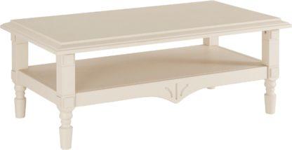 Sosnowy stolik kawowy, bogato zaprojektowany