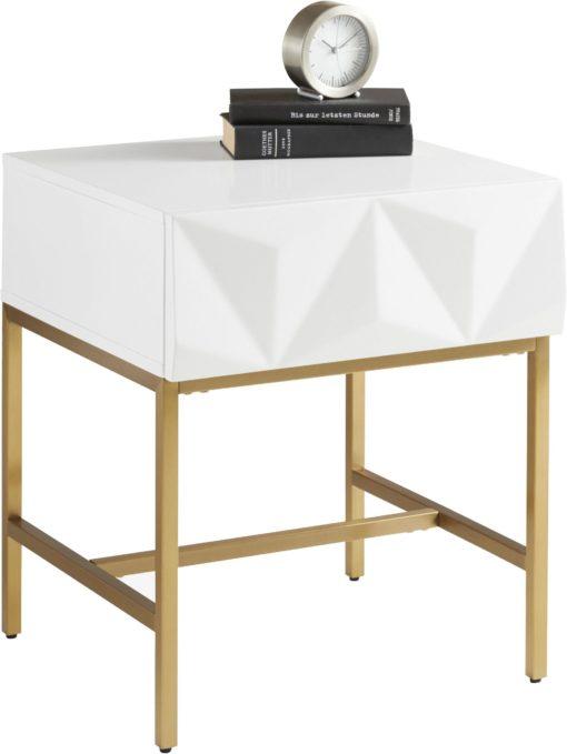 Bardzo modny i unikatowy stolik z szufladą. Must have w każdym domu!