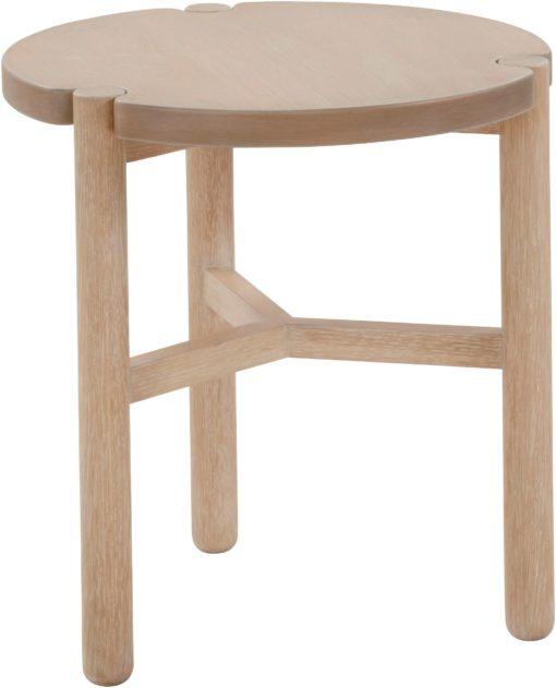 Okrągły stolik o skandynawskim designie