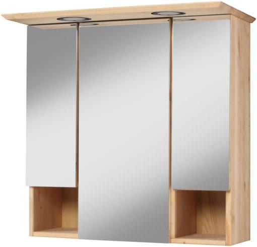 Szafka łazienkowa z lustrem i zintegrowanym oświetleniem