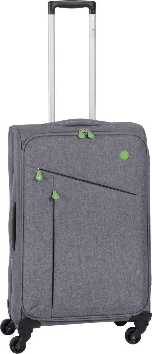 Miękka walizka na kółkach