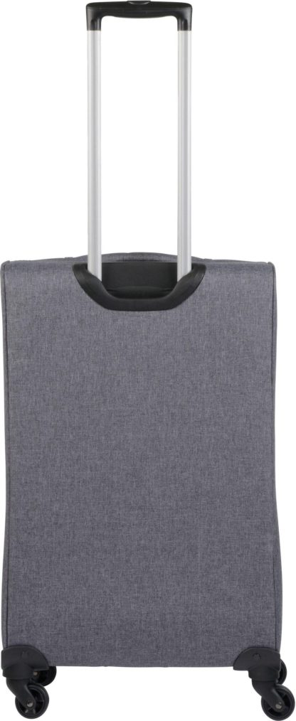 3-częściowy zestaw miękkich walizek na kółkach