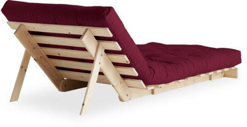Rozkładany szezlong z materacem futon i możliwością spania