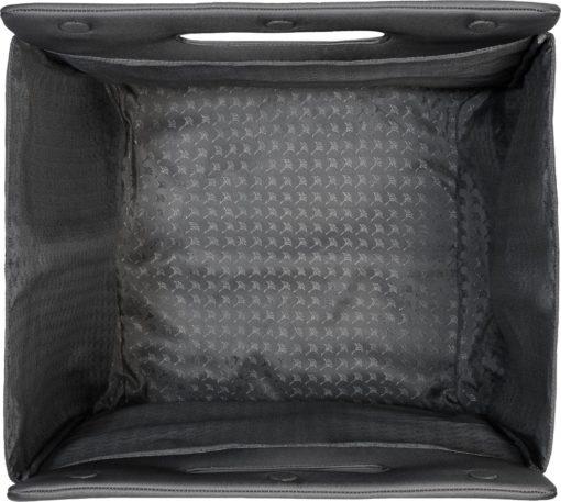 Designerski kosz do przechowywania lub na pranie, szary