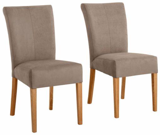 """Krzesła """"Queen"""" z dębową ramą i nogami - 2 sztuki"""