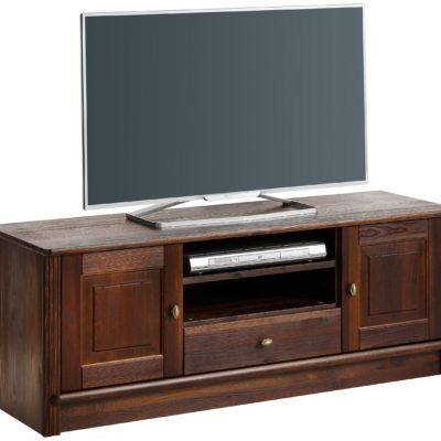 Szlachetna szafka pod telewizor z drewna sosnowego