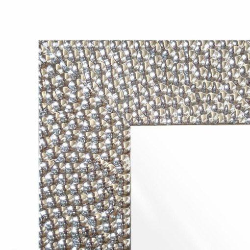 Lustro ścienne z błyszczącą ramą 88x68 cm