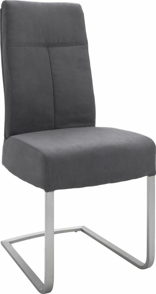 Zestaw dwóch nowoczesnych krzeseł bujanych, na płozach