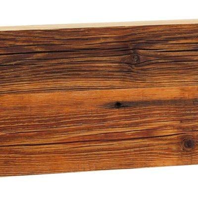 Wyjątkowa konsola/półka na ścianę z litego drewna