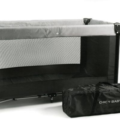 Składane łóżeczko turystyczne z torbą do przenoszenia