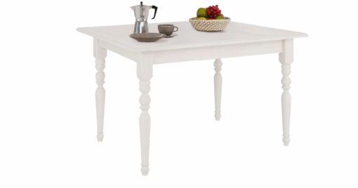 Piękny, sosnowy stół z toczonymi nogami, 110 cm