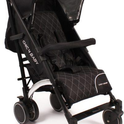 Wózek CHIC4BABY typu Byggy Pack, składany, aluminiowa rama