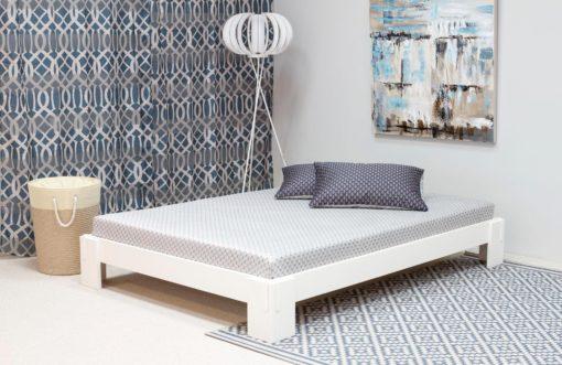 Łóżko futon 180x200 cm ze stelażem