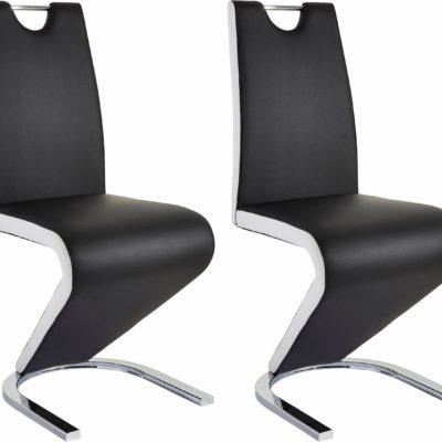 Modne krzesła o niezwykłym designie - 2 sztuki