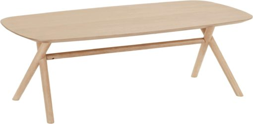 Prosty stolik kawowy w stylu skandynawskim