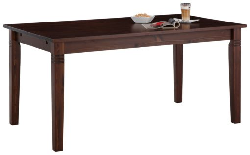 Duży, sosnowy stół w kolorze kolonialnym 180 cm
