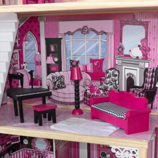 Duży domek dla lalek z wyposażeniem, KidKraft Amalia