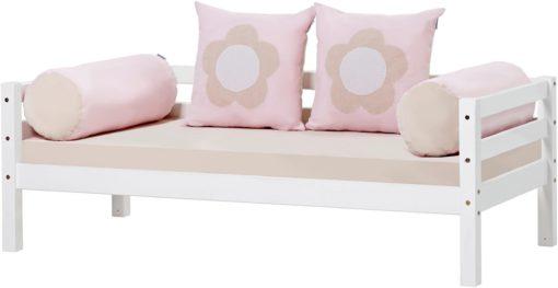 Dwie poduszki piankowe, wałki ze 100% bawełny