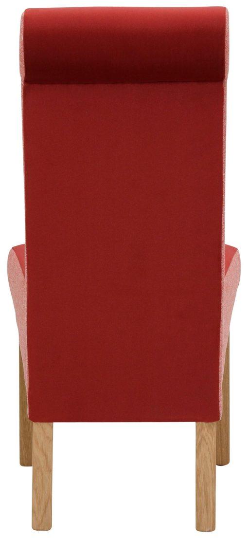 Nowoczesne krzesła, dębowe nogi - zestaw 2 sztuki