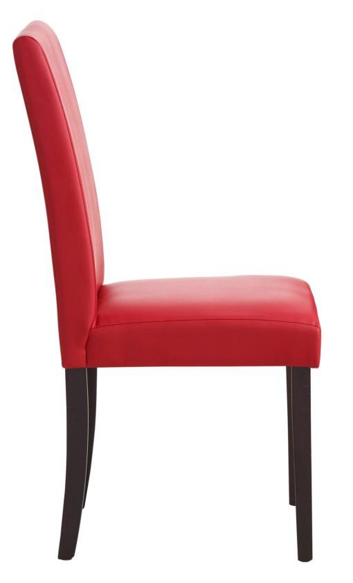 Krzesła we współczesnym stylu, czerwone - 2 sztuki