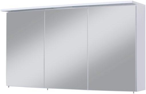 Trzydrzwiowa szafka łazienkowa z lustrem i oświtleniem LED