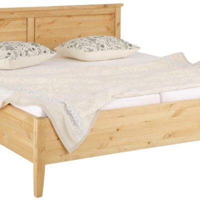 Sosnowe łóżko 180x200 cm, ponadczasowo piękne