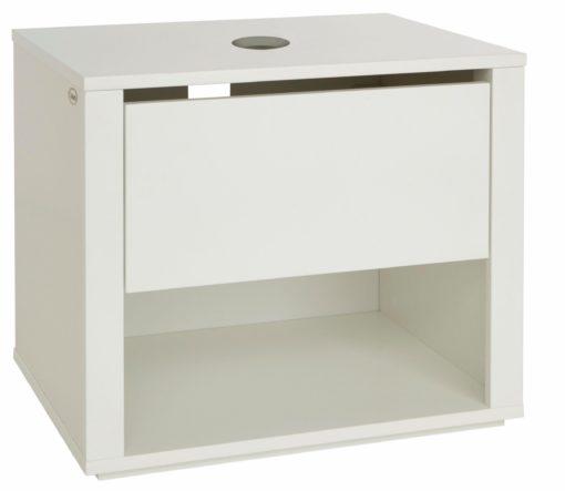 Nowoczesna szafka pod umywalkę w kolorze białym