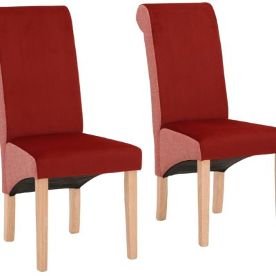 Nowoczesne krzesła, bukowe nogi - zestaw 4 sztuki