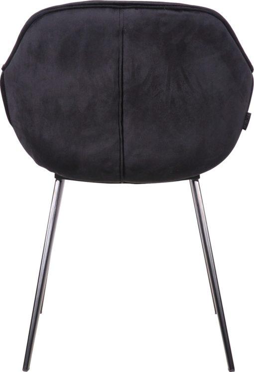 Niezwykle eleganckie krzesła na metalowej podstawie - 2 sztuki