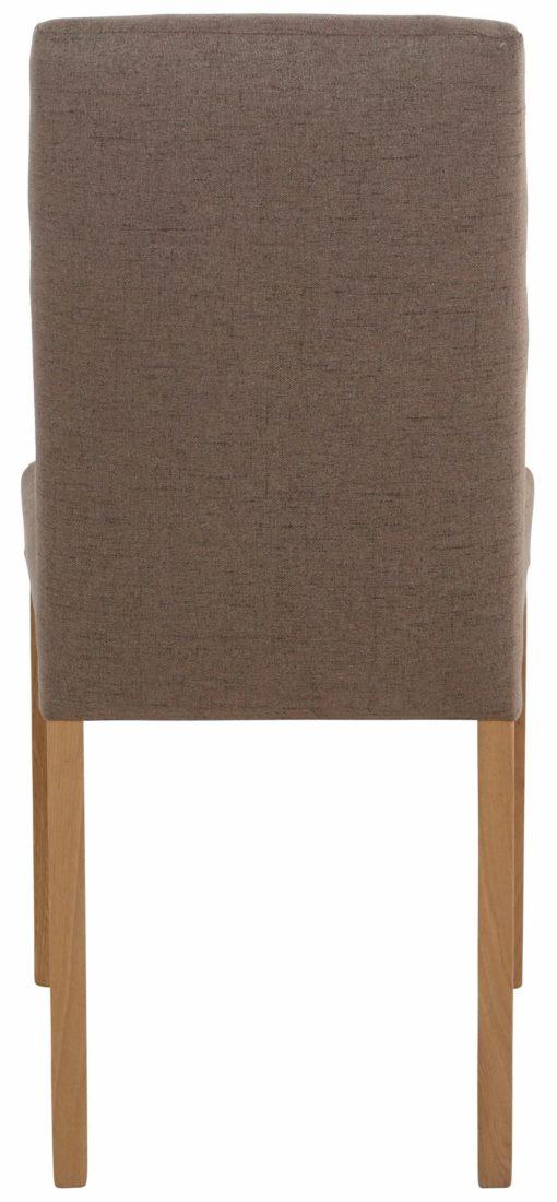 Eleganckie krzesła Lona, brązowe - zestaw 2 sztuki