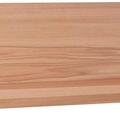 Półka ścienna w kolorze drewna bukowego 120 cm