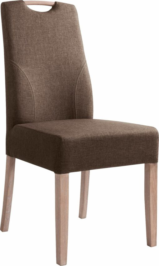 Wysokiej jakości krzesła w odcieniach brązu - 2 sztuki