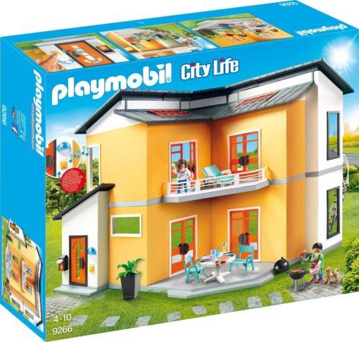 Domek dla lalek Playmobil® Modern House z wyposażeniem