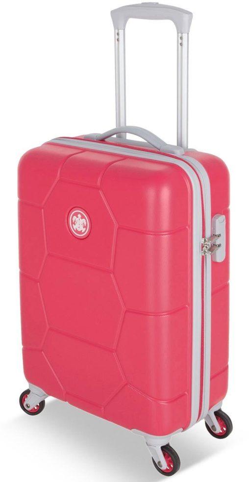 Stylowa, twarda walizka z zamkiem szyfrowym, Teaberry