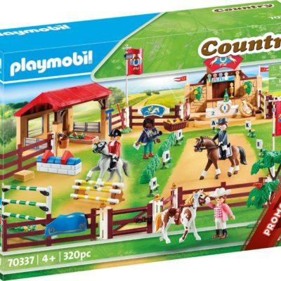 Zestaw Playmobil arena jeździecka/turniej konny