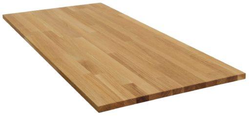 Blat do stołu z drewna dębowego 50x90 cm