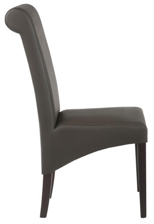 Eleganckie krzesła, sztuczna skóra, drewno bukowe - 6 sztuk
