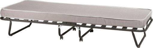 Składane łóżko z materacem, materac piankowy 9 cm