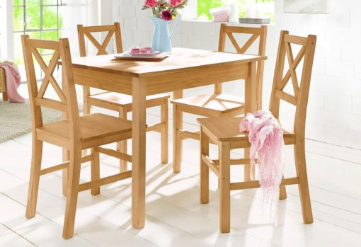 Sosnowy stół do jadalni 100x70 cm