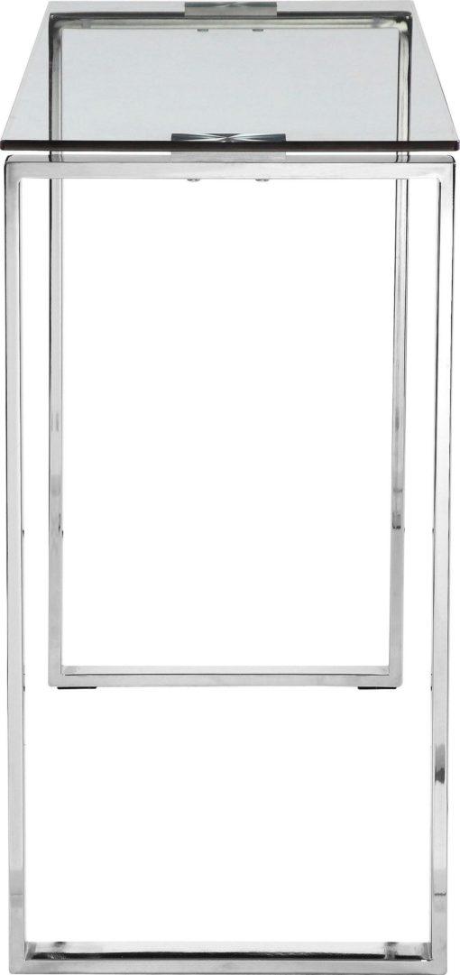 Luksusowy stół/ konsola, szkło i chrom