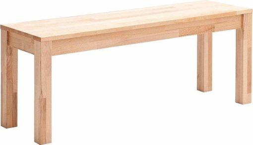 Praktyczna ławka z drewna bukowego, 145 cm