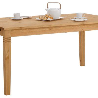 Sosnowy stół 140 cm w rustykalnym stylu