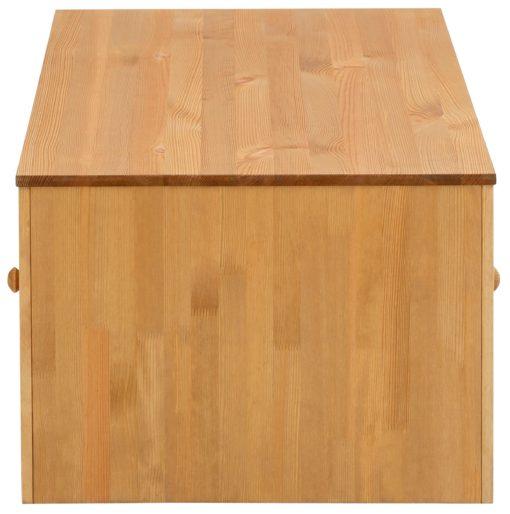Sosnowa ława z szufladą, rustykalna
