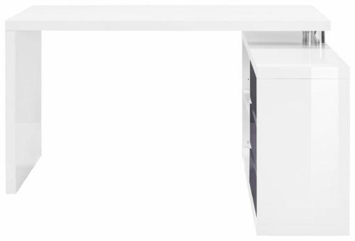 Biurko w skandynawskim stylu z dodatkową komodą