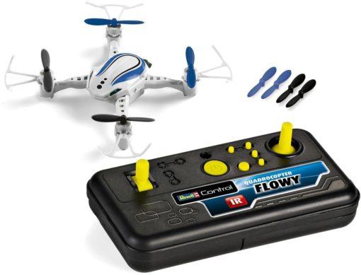 Model RC RC Quadrocopter Flowy z oświetleniem LED