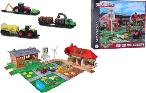 Majorette Creatix Wielka Farma, budynki, pojazdy