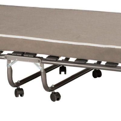 Składane łóżko z materacem piankowym i pokrowcem