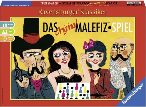 Gra planszowa Oryginalna gra Malefiz od Ravensburger