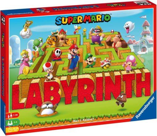 Gra logiczna Labirynt Supermario, gra planszowa